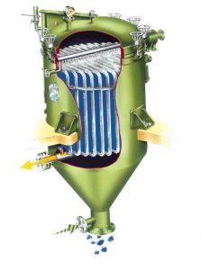 filtro niagara descarga húmeda