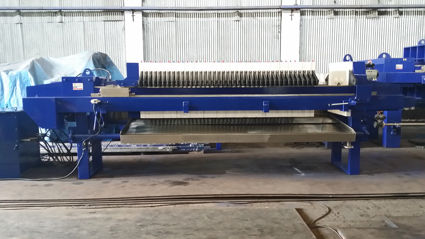filtro prensa automático